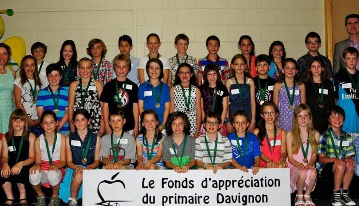 250 élèves sont médaillés pour leurs efforts et leur persévérance